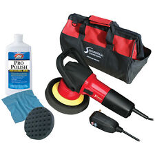 BOAT MARINE CAR Pro Grade Dual Action Polisher Starter Kit w/Bag & Pro Polish