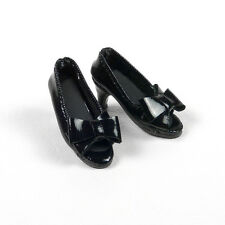 1/6 Cy Girl, Phicen, Kumik, ZC, Hot Toys, TTL, NT Female Black Ribbon Heel Shoes