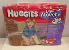 HUGGIES Little Movers Diaper Pants, Size 6, 34 Count