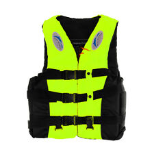 Adult Snorkeling Lifesaving Vest Aid Swimming Life Jacket Fuorescein Yellow