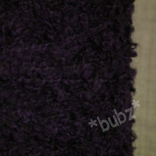 SUPER SOFT PURPLE POODLE YARN 4 PLY 500g CONE / 10 BALLS BOUCLE BOBBLE KNITTING