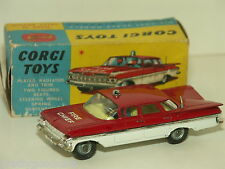 Corgi Toys 1959 Chevrolet Impala Fire Chief's Car w/original box
