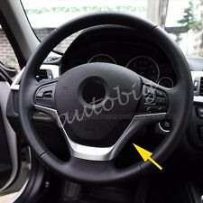 Chrome Steering Wheel Cover FOR BMW F30 F20 316 318 320 116 Trims Accessories