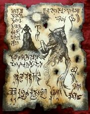 WEREWOLF cthulhu larp necronomicon grimoire demons magick occult