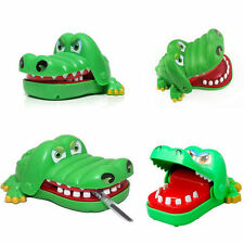 Funny Toy  Crocodile Mouth Dentist Bite Finger Game Kids Alligator Roulette Game