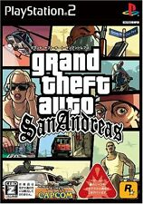 Used PS2 Grand Theft Auto San AndreasJapan Import (Free Shipping)