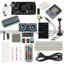 SainSmart Mega2560 R3 + LCD 1602 + Prototype + HC-SR04 Starter Kit For Arduino