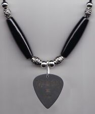 Dir en grey Kaoru Black Guitar Pick Necklace - ESP