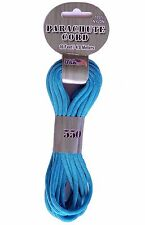 Turquoise 550 Parachute Cord Paracord for survival bracelets jewelry crafts
