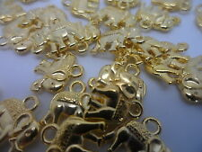 20 x Elephant Charms~Gold Tone~ 12x14mm~Card making ~Jewellery~Scrapbooking