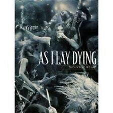 """AS I LAY DYING """"THIS WHO WE ARE"""" 3 DVD SET NEU"""