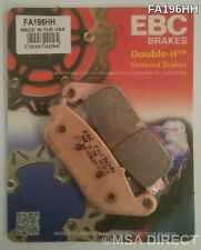 Honda CBR1000F (1989 to 1992) EBC Sintered REAR Brake Pads (FA196HH) (1 Set)