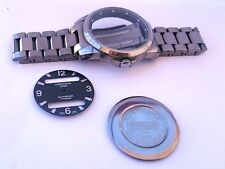 Certina DS Podium Full Titanium Complete Watch Case Dial Bracelet For Parts