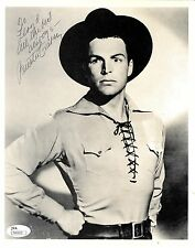 BUSTER CRABBE (DECEASED) PLAYED FLASH GORDON & BUCK RODGERS SIGNED JSA #N44620