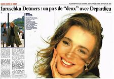 Coupure de presse Clipping 1989 (2 pages) Maruschka Detmers