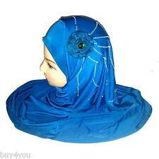 Foulard Strass Islam Copertura Capelli Musulmani Foulard Khimar Niqab Esarp