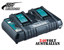 MAKITA 18V LITHIUM ION CORDLESS BATTERY FAST CHARGER DC18RD with USB Port