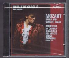 NATALE DE CAROLIS CD NEW MOZART OPERA & CONCERT ARIAS