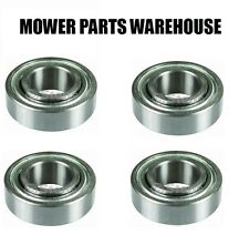 (4) HEAVY DUTY BLADE SPINDLE BEARINGS TORO EXMARK 103-2477 RA100RR7 LAZER Z