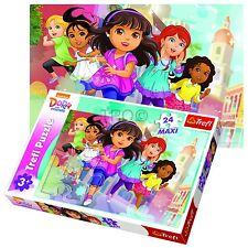 Trefl 24 Piece Maxi Kids Unisex Dora The Explorer And Friends Jigsaw Puzzle