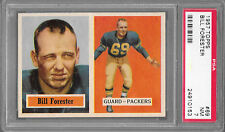 1957 Topps #69 BILL FORESTER Packers PSA 7 NM