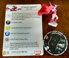 Scarlet Witch #006 from AvX with card Avengers vs. X-Men Heroclix set CHAOS!