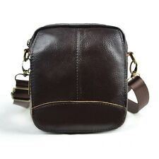 Men's Leather Satchel Shoulder Bag Waist Bum Pack Belt Bag Crossbody Sling Bag