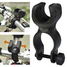Clip Cycling Bicycle Flashlight Torch Light Holder Grip Mount Bike Clamp 360°