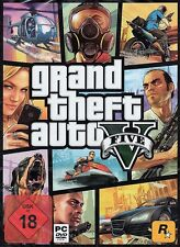 GRAND THEFT AUTO V GTA 5-PER PC DVD-BOX-NUOVO & OVP-versione tedesca