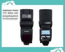 YONGNUO YN685 TTL-Blitz Blitzgerät mit eingebautem Funk-Empfänger für Nikon DSLR