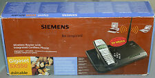 (PRL) SIEMENS WIRELESS ROUTER W/ INTEGRATED CORDLESS PHONE GIGASET SX550 SX 550