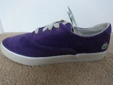 Lacoste Sport Imatra CI shoes trainers purple suede uk 8 eu 42 us 9 new+ tags