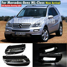 LED Daytime Running Light For Benz W164 ML-Class ML350 DRL 2006 2007 2008 2009