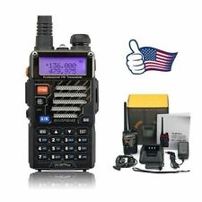 Baofeng   UV-5R+ Plus   VHF UHF 136-174/400-520MHz Dual Band FM Two way Radio