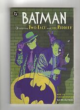 DC COMICS BATMAN FEATURING TWO-FACE AND THE RIDDLER TPB GRAPHIC NOVEL COMIC