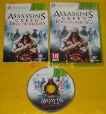 ASSASSIN'S CREED BROTHERHOOD XBOX 360 Versione Italiana 1ª Edizione »»» COMPLETO