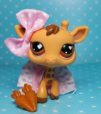 Littlest Pet Shop Giraffe #526 Heart eyes exklusive figure & Accessoires Zubehör