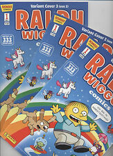Simpsons Comics Presenta: Ralph Wiggum # 1 Variant-set 1+2+3 - munich 2013