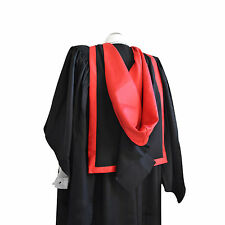 Graduation Full Shape Hood Scarlet Red University Bachelors Masters Academic