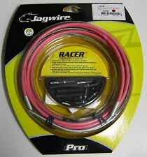 Jagwire RACER ROAD COMPLETE Cable Kit SRAM SHIMANO  PINK DERAILLEUR RCK002 NEW