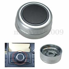 Main Menu Multimedia Rotary Control Switch Knob Cap Cover For Audi A6 A8 Q7 S6