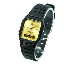 -Casio AW48HE-9A Dual Time Watch Brand New & 100% Authentic NM