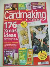 Magazine. Card Making & Papercraft. Issue 45. November 2007. 176 Xmas Ideas.
