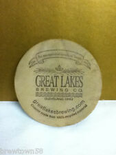 Beer coaster beer coasters 1 Great Lakes Brewing Co Cleveland OH AW2