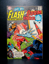 COMICS: DC: Brave and the Bold #65 (1966), Flash/Doom Patrol - RARE (batman)