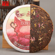Promotions! Puer tea 100g cooked tea rose flavor tea slimming healthy green food