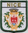 France Nice City Crest Embroidered Patch Badge
