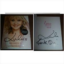 """Lulu signé dédicacé secrets pour bien livre """"la musique pop!"""