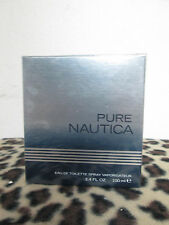 NAUTICA PURE  COLOGNE BY NAUTICA  MEN FRAGRANCe 3.4 OZ EDT SPRAY NEW IN BOX