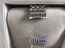 Michele Watch 18mm 7 Row Stainless Steel Watch Bracelet NWOT